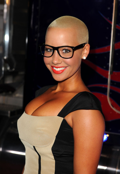Amber Rose - 2011 Maxim Hot 100 Party With New Era, Miller Lite, 2(x)ist And Silver Jeans Co. - Red Carpet