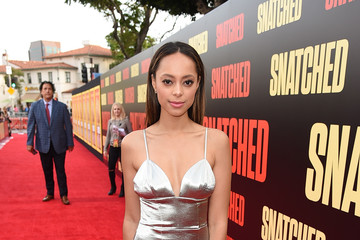 Amber Stevens West Premiere of 20th Century Fox's 'Snatched' - Red Carpet