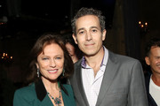 """Jacqueline Bisset (L) and Waleed Zuaiter attend the Ambi Gala Tribeca party for """"Blue Night"""" at The Ainsworth on April 19, 2018 in New York City."""