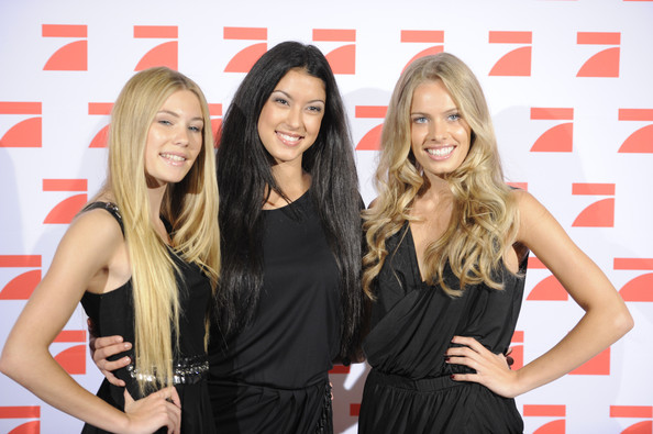 GNTM Finalists Photocall