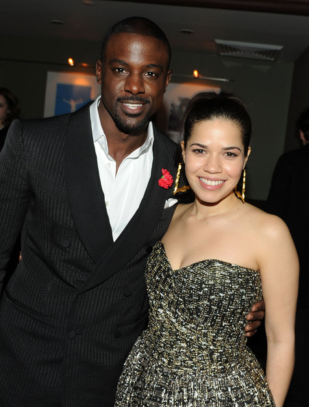 Our Family Wedding.America Ferrera And Lance Gross Photos Photos Premiere Of Our