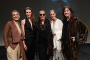 (L-R) Zainab Salbi, Devon Teuscher, Donna Karan, Gemma Bond and Jessica Lang attend American Ballet Theatre Women's Movement Hosted by Donna Karan at Urban Zen during Women's History Month on March 13, 2019 in New York City.