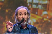 Musician Harry Shearer speaks during the American Eagle Awards Honoring Crystal Gayle, Patti Smith and Harry Shearer at Music City Center on July 13, 2017 in Nashville, Tennessee.