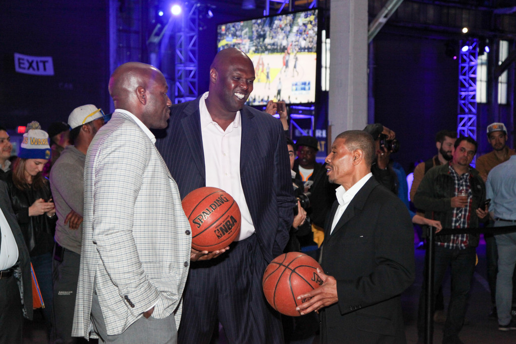 Tony Delk Photos Photos - American Express All for Dub Nation Watch
