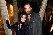 Ally Hilfiger (L) and Steve Hash attend the American Express Platinum Card Member Dinner hosted by Chef Michael Solomonov at Platinum House at 1 Hotel South Beach on December 7, 2018 in Miami, Florida.