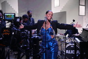 In this image released on September 18, 2020, Alicia Keys performs for American Express UNSTAGED livestream event broadcast on Friday, September 18, 2020 in Secaucus, New Jersey.