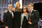 (L-R) Ken Mosesian, Brenda Strong, Rosie O'Donnell, and Dan Bucatinsky attend The American Fertility Association's Illuminations NYC 2012 on December 3, 2012 in New York City.