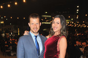 Eric Mabius (L) and Jessica Harris attend the American Friends of the Israel Philharmonic Orchestra Los Angeles Gala 2018 at Wallis Annenberg Center for the Performing Arts on October 25, 2018 in Beverly Hills, California.