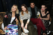 (L-R) Kelli Berglund, Emily Browning, Avan Jogia and Roxane Mesquida attend American Gods & Now Apocalypse Live Viewing Party At #TwitterHouse at Lustre Pearl on March 10, 2019 in Austin, Texas.