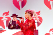 Eve perform for The American Heart Association's Go Red For Women Red Dress Collection 2019 Presented By Macy's at Hammerstein Ballroom on February 7, 2019 in New York City.