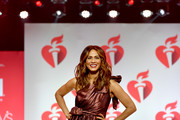 Nicole Ari Parker walks the runway for The American Heart Association's Go Red For Women Red Dress Collection 2019 Presented By Macy's at Hammerstein Ballroom on February 7, 2019 in New York City.