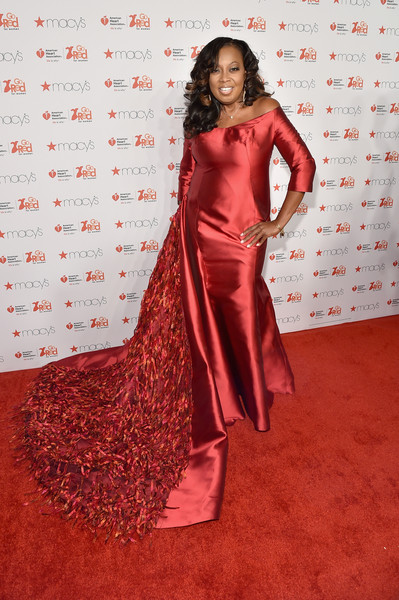 Star Jones attends the Go Red For Women Red Dress Collection 2015 presented by Macy's fashion show during Mercedes-Benz Fashion Week Fall 2015 at Lincoln Center on February 12, 2015 in New York City.