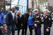Coco Austin, Ice-T and Lois Pope (C) attend American Humane Association Salutes Four-Legged Military Heroes During 2014 Veterans Day Parade  on November 11, 2014 in New York City.