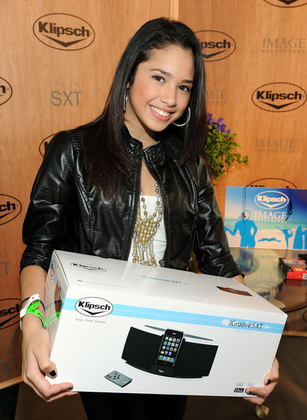Jasmine Villegas Singer Jasmine Villegas attends the American Music Awards luxury lounge held at Nokia Theatre L.A. Live on November 20, 2009 in Los Angeles, California.