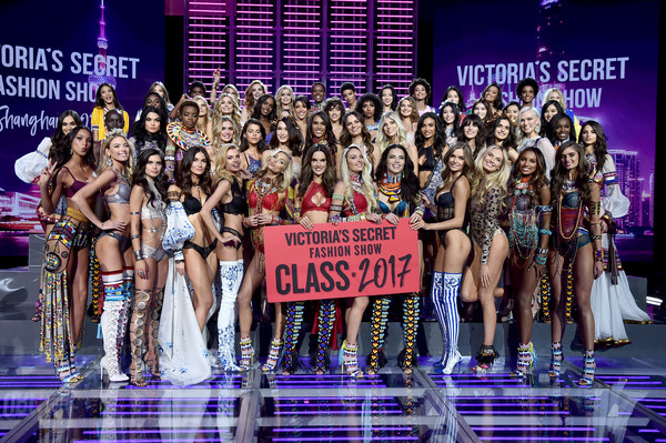 2017 Victoria's Secret Fashion Show In Shanghai - Backstage [performance,fashion,event,competition,fashion design,model,fashion show,stage,runway,performing arts,models,adriana lima,alessandra ambrosio,candice swanepoel,elsa hosk,martha hunt,romee strijd,shanghai - backstage,victorias secret,victorias secret fashion show]