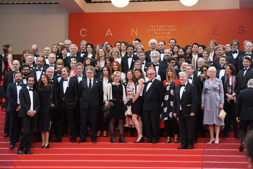Amira Casar 'Le Belle Epoque' Red Carpet - The 72nd Annual Cannes Film Festival