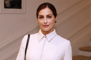 Amira Casar Christian Dior : Front Row - Paris Fashion Week - Haute Couture Fall/Winter 2016-2017