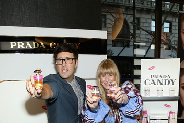 Amy Astley Andrew Bevan Teen Vogue Celebrates the Prada Candy Fragrance Collection at Sephora Union Square, New York
