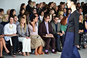 Amy Astley Calvin Klein Collection - Front Row - Mercedes-Benz Fashion Week Spring 2015