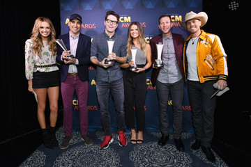 Amy Brown Bobby Bones 53rd Academy Of Country Music Awards Radio Awards Reception