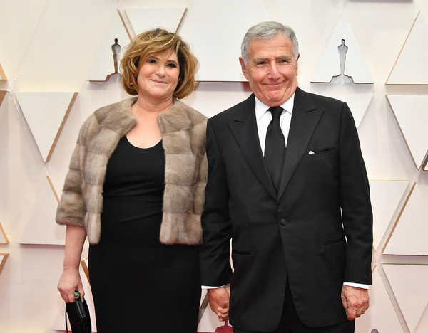 92nd Annual Academy Awards - Arrivals [suit,fashion,formal wear,event,tuxedo,white-collar worker,outerwear,fashion design,dress,carpet,arrivals,amy pascal,bernard weinraub,l-r,hollywood,california,highland,92nd annual academy awards,amy pascal,bernard weinraub,photograph,image,celebrity,photography,stock photography,red carpet,livingly media]