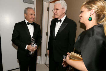 Amy Poehler Lorne Michaels 15th Annual Costume Designers Guild Awards With Presenting Sponsor Lacoste - Green Room