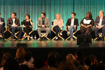 Amy Poehler Nick Offerman 'Parks and Recreation' Honored in Hollywood