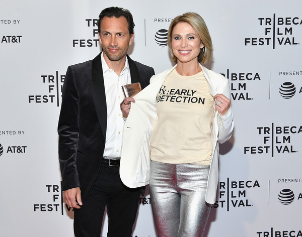 amy robach and andrew shue photos photos rx early