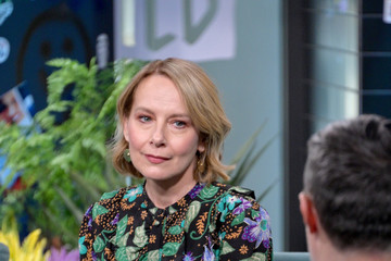 Amy Ryan Celebrities Visit Build - March 2, 2020
