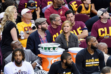 Amy Schumer Boston Celtics v Cleveland Cavaliers - Game Three