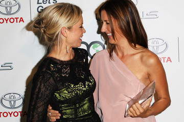 Amy Smart Anna Getty 23rd Annual Environmental Media Awards Presented By Toyota And Lexus - Roaming Inside And Backstage