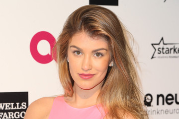 Amy Willerton Arrivals at the Elton John AIDS Foundation Oscars Viewing Party — Part 4