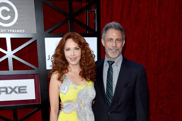 Amy Yasbeck Arrivals at Comedy Central's James Franco Roast — Part 3
