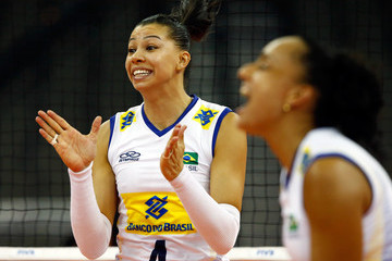 Ana Carolina Da Silva FIVB Volleyball World Grand Prix - Day 3