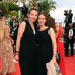 """Ana Girardot """"Les Intranquilles (The Restless)"""" Red Carpet - The 74th Annual Cannes Film Festival"""