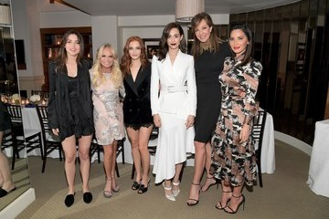 Ana de Armas Giovanni Morelli, Stuart Weitzman Creative Director, And Laura Brown, InStyle Editor-In-Chief, Celebrate the Opening of Beverly Hills Boutique With Private VIP Dinner At The Sunset Tower Hotel