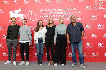 Anders Danielsen Lie '22 July' Photocall - 75th Venice Film Festival