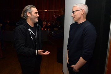 """Anderson Cooper Joaquin Phoenix Hosts Release Party For His Sister Rain Celebrating Her New Album """"RIVER"""""""