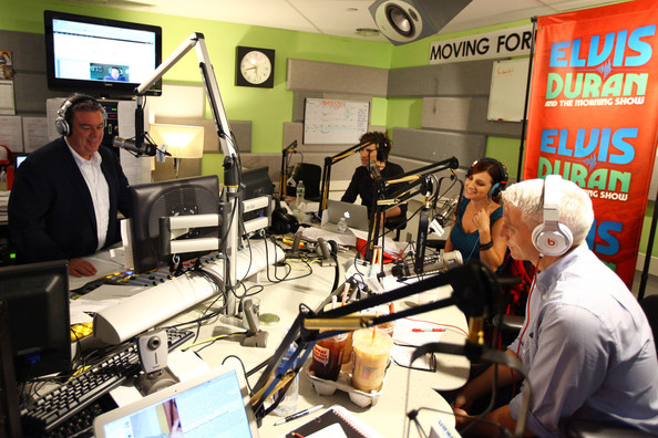 ... Cooper Visits Elvis Duran And The Z100 Morning Show - Pictures