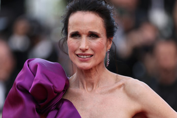 Andie MacDowell 'The Meyerowitz Stories' Red Carpet Arrivals - The 70th Annual Cannes Film Festival