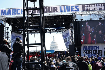 Andra Day Hundreds Of Thousands Attend March For Our Lives In Washington DC