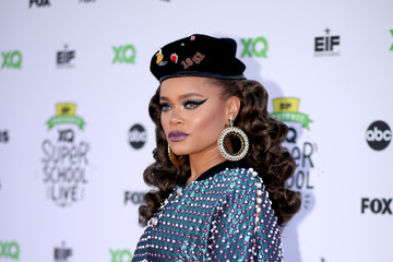 Andra Day EIF Presents: XQ Super School Live at the Barker Hangar - Red Carpet