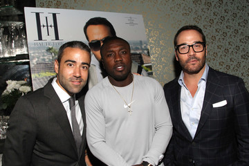 Andre Berto Hublot Celebrates Jeremy Piven's Haute Living New York April/May Cover