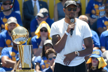 Andre Iguodala Golden State Warriors Victory Parade and Rally