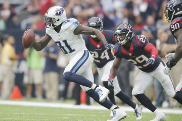 Andre Johnson Tennessee Titans v Houston Texans