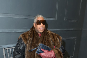 Andre Leon Talley Vera Wang Collection - Front Row - Mercedes-Benz Fashion Week Fall 2014