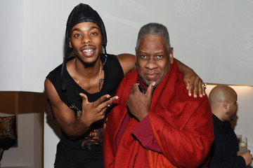Andre Leon Talley Lil Buck For Versace