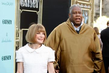 Andre Leon Talley 'The Great Gatsby' Premieres in NYC 4