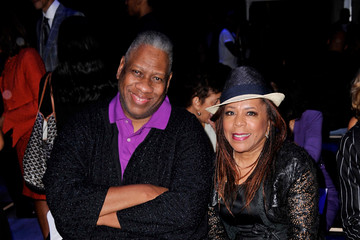 Andre Leon Talley B. Michael America - Front Row - Mercedes-Benz Fashion Week Spring 2015