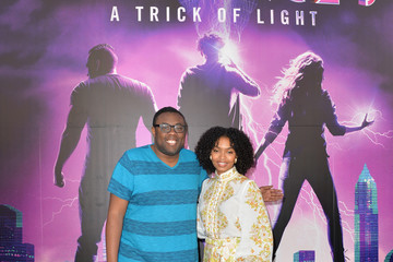 Andre Meadows Actress Yara Shahidi Visits Audible's 'Stan Lee's Alliances: A Trick of Light' Experience At San Diego Comic-Con